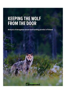 """Keeping the Wolf from the Door"" - Report"